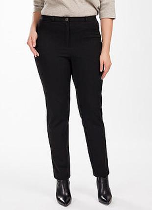 Бесподобные трендовые стрейчевые велюровые брюки с лампасами в...