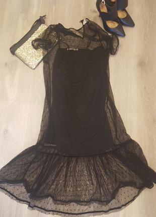 Кружевное платье forever21