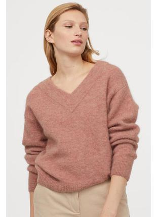 Обьемный свитер h&m