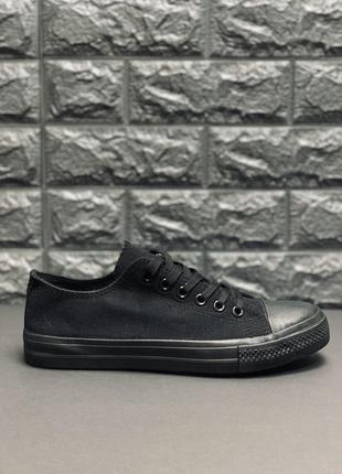Converse кеды женские классические чёрные