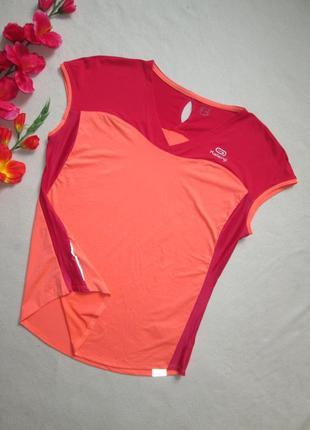 Яркая классная  легкая спортивная футболка kalenji