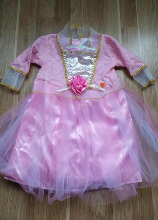 Платье принцесса 1-2 года