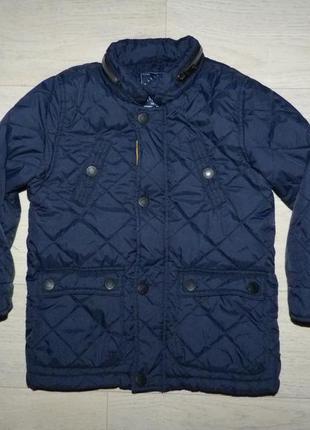 Стеганная демисезонная куртка george 3-4 года