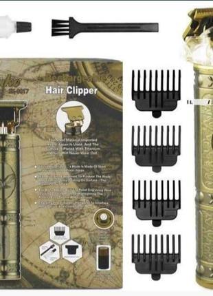 Профессиональный триммер для стрижки бороды и волос окантовочн...