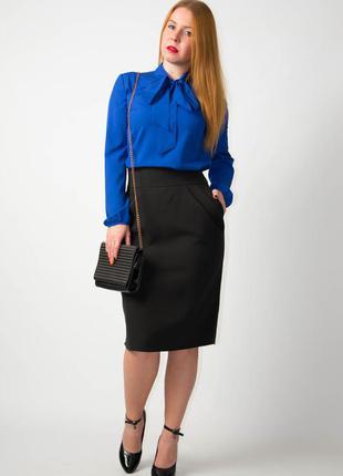 Костюм женский блуза+юбка от бренда аделе лероу.