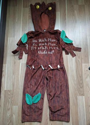 Карнавальный костюм  дерево 3-4 года