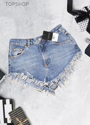 Новые шорты с завышенной талией topshop