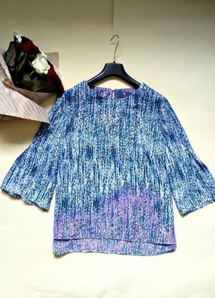 Легкая блуза свободного кроя 20 tu