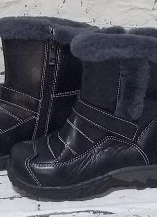 Теплые детские зимние сапоги,ботинки 28 р.+ подарок.