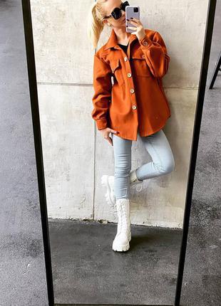 Полупальто, рубашка пальто