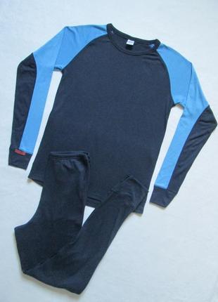 Суперовый спортивный брендовый  термо костюм с утепленными уча...