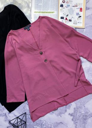 Модная блуза цвета пудры 18-20
