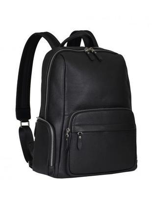 Рюкзак кожаный мужской стильный casual анатомическая спинка