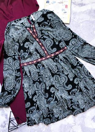 Новое с биркой натуральное свободное платье