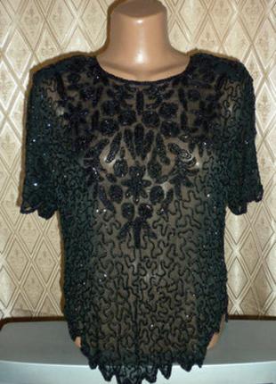 Блуза шифон  - грудь 100 см