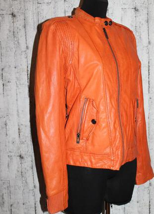 Maze крутая,сочная кожаная куртка,косуха 100% натуральная кожа