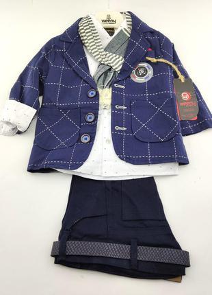 Детский нарядный костюм 1 2 3 4 года