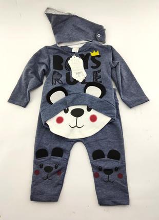 Детский костюм 6 9 12 месяцев