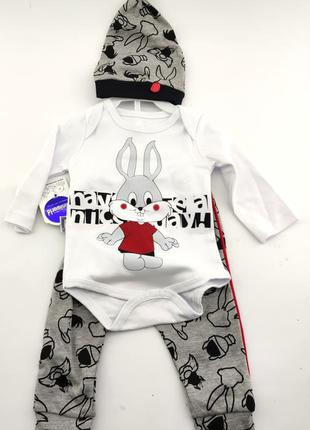 Детский костюм 3 и 6 месяцев