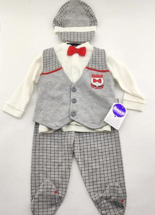 Детский нарядный костюм 6 месяцев