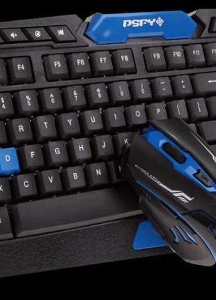 Беспроводные клавиатура+мышка KEYBOARD HK-8100