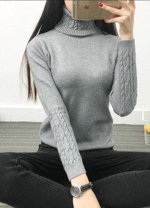 Гольф, свитер под горло