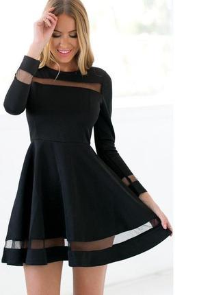 Платья с сеткой