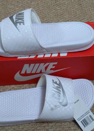 Nike benassi летние тапочки шлепки