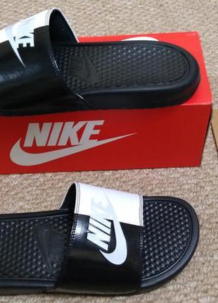 Nike benassi летние тапочки