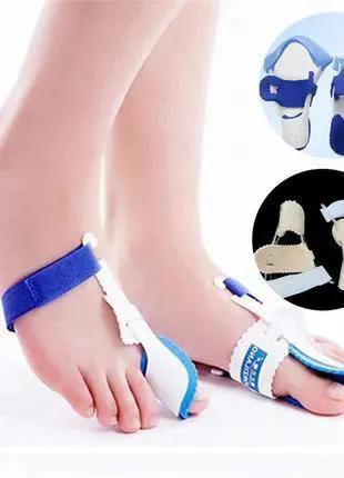 Бандаж фиксатор для пальца ночной от косточки на ноге на большой