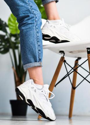 🌹женские кроссовки adidas yeezy boost 700 white🌹адидас изи бус...