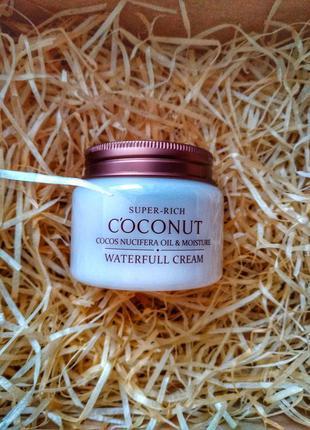 Coconut waterfull cream esfolio крем для лица с экстраком кокоса