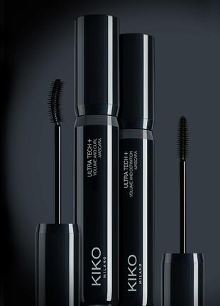 kiko milano ultra tech + volume and curl mascara Тушь для ресниц