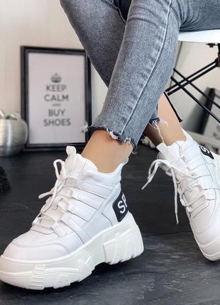 Высокие женские кроссовки на платформе, кроссовки sport 37,38,40р