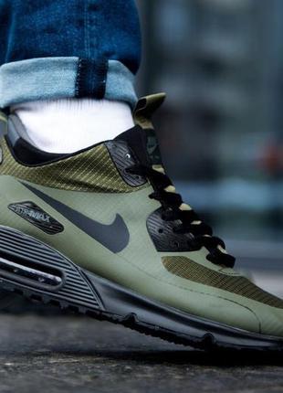 Мужские кроссовки nike olive