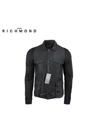 Мужская чёрная куртка richmond оригинал