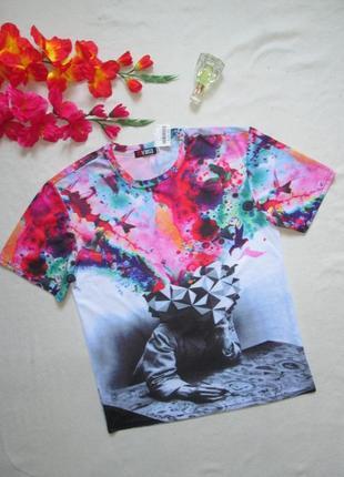 Оригинальная футболка принт абстракция reverse германия