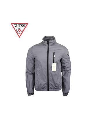 Мужская серая куртка guess оригинал