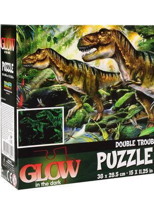 Пазлы 12514 динозавры