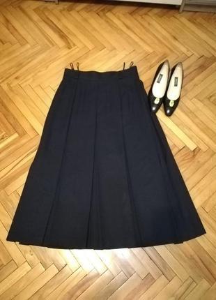 Макси юбка с завишенной талией