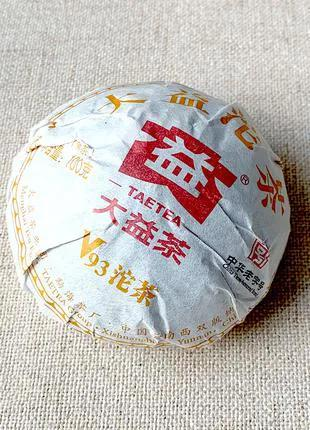 Китайский Чай Шу пуэр Да И «V93»: 100 гр.,