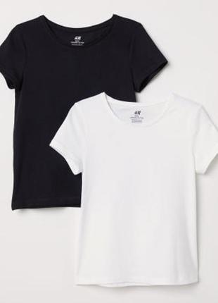H&m набор футболок для девочки