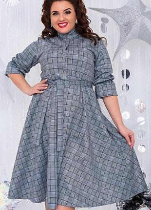 Шикарное замшевое платье большие размеры