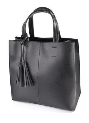 Женская классическая квадратная сумка, сумка шоппер