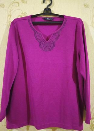 Кофточка свитерок большой размер 20-22-24 bm