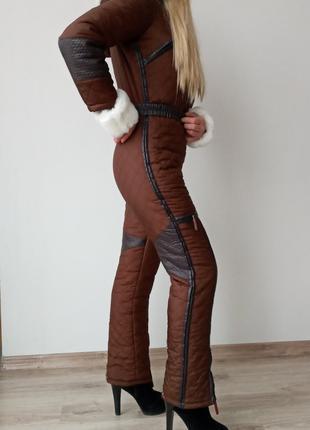 Лыжный комбинезон женский (лыжи , сноуборд , зимняя одежда)