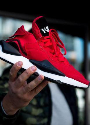 Мужские кроссовки adidas yohji yamamoto y-3 kaiwa red