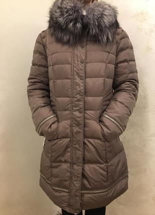 Куртка-пуховик {новая}, 48 размер
