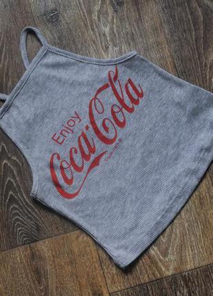 Майка топ coca-cola от atmosphere