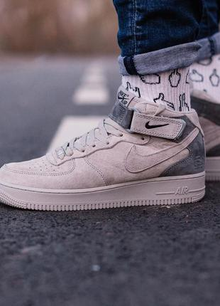 Кроссовки nike air force 1 mid x reigning champ